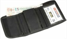 Police Tri-Fold Nylon Wallet Black Security Equipment Officer Duty Belt