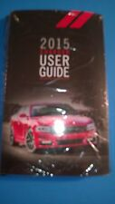 2015 Dodge Charger Owners Manual Kit (New Sealed in Plastic)