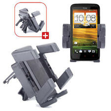 Car/Vehicle Air Vent Holder & Mount For HTC One X+ Smart Phone With Strong Grip
