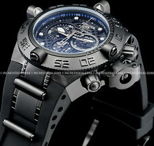 Invicta 6582 Men's Subaqua Noma IV Combat Chronograph Black Strap SS 500M Watch