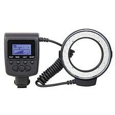 RF550E Macro 48 LED Ring Flash Light for SONY A900 A850 A57 A77 A65 A37 NEX7 7@