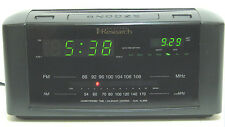 emerson Research SmartSet  Time  2 Alarm Clock / Calendar AM / FM Radio Perfect