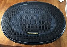 "NEW Old School Poweramper 6X9"" 3-way Coaxial Speakers,Rare,Vintage,NOS,USA MADE"