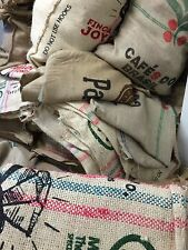 Hessian Coffee Sacks 3 For £7