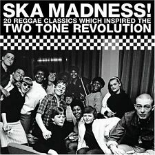 VARIOUS ARTISTS: SKA MADNESS! CD 20 REGGAE CLASSICS TWO 2 TONE REVOLUTION / NEW
