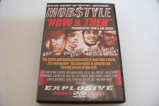 MOBSTYLE - NOW & THEN / GAME OVER 2-DVD 2003 (Azie Pretty Tone Nas Mos Def) RARE