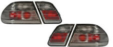 Back Rear Tail Lights Lamps Indicators Set Smoke Pair For Mercedes W210 95-02