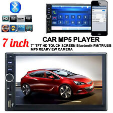 "7"" LCD 2DIN Car Stereo MP5 Player Touch Screen Dash FM Radio Bluetooth GPS HOT"