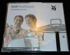 WMF Fleischtopf mit Glasdeckel Durchmesser 24cm 5,7 Liter Induktion ProfiSelect