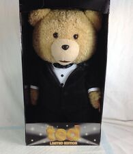 "Ted in Tuxedo 24"" Plush Toy with Sound Limited Edition"