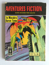COMICS POCKET AVENTURES FICTION N°55 LE MACABRE BARON TYME 1977
