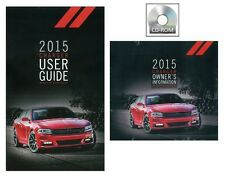 2015 Dodge Charger User Guide plus Owners Manual DVD Operator Book Fuses