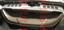 Carbon Fiber Grille No Upper Radiator Cover For Genesis Coupe Front Bumper 2010