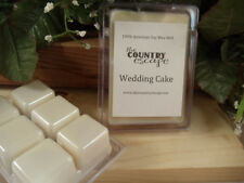 Wedding Cake Scented Soy Wax Clamshell Melt Tart- 2wks of Fragrance