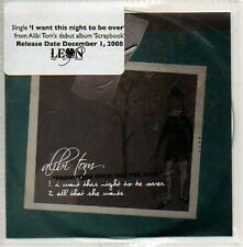 (705D) Alibi Tom, I Want This Night to be Over - DJ CD