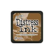 Tim Holtz Mini Distress Ink Pad VINTAGE PHOTO Light Brown