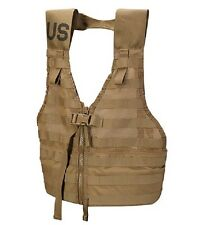 US Marine Corps USMC MOLLE Fighting Load Carrier (FLC Vest) Army Coyote Brown