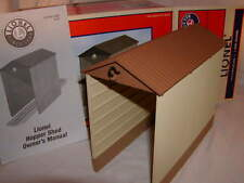 Lionel 6-37913 Hopper Shed O 027 MIB New Exterior Lights at both ends of Hopper