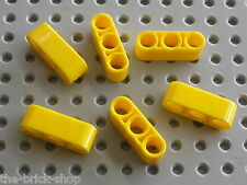 LEGO Technic yellow Beam 3 ref 32523 / set 8275 8265 8069 8421 8264 8053 8258...