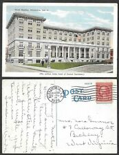 1928 Postcard - Louisiana - Alexadria - Hotel Bentley