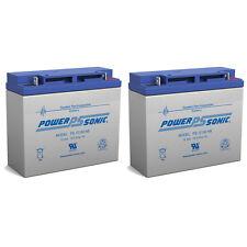 Power-Sonic 2 Pack - UB12180 12v 18amp T4