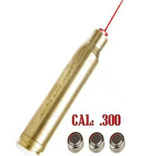 Hunting Gun Red Laser Bore Sighter .300 Win MAG Cartridge Sight Boresighter