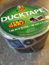 *NEW DESIGN* STAR WARS Duck Duct Tape 1.88 in x 10 yd