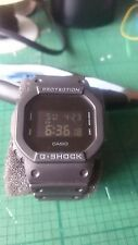 "Casio G-shock DW-5600BB (3229) ""negro en negro"" Digital GW-5000 Bisel"