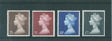GB MACHINS -PRE  DECIMAL -HV14-  FOUR VALUES TO £1.00  -   UNM. MINT