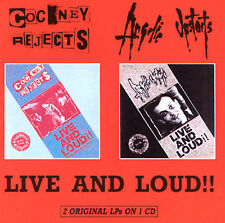 Live and Loud!! by Cockney Rejects (CD, Nov-2001, Step One Records)