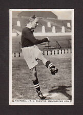 R.A. Chester Manchester United Football Vintage 1935 Cigarette Card