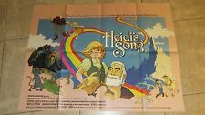 HEIDI'S SONG movie poster LORNE GREENE, HANNA BARBERA