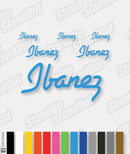Etiqueta de logotipo estilo Ibanez Pack - 16+ Custom Colours