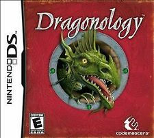 Dragonology. Nintendo DS/DSi/3DS. Rare. RPG. GAMESTOP EXCLUSIVE. Free Shipping