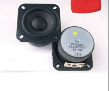 """2pcs 2.25"""" inch bass Speaker Full Frequency woofer large magnet 15 Watts 8 Ohms"""