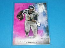 2015 Inception RUSSELL WILSON #50 Magenta Variant/99 Seattle SEAHAWKS Wisconsin