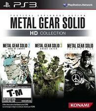 Metal Gear Solid HD Collection - Playstation 3 Game