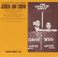 Langston Hughes' Jericho-Jim Crow - Hugh Porter (2009, CD NEUF) CD-R2 DISC SET