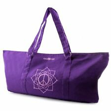 Yoga Mat Carrier Tote Bag - Purple