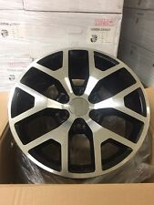 "4 NEW 2014 GMC Sierra Wheels 20x9  Black & Machined OE 20"" Silverado Denali"