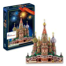 Clever&Happy 3D Puzzle Model  Vasile Assumption Cathedral  Educational Toys Adul