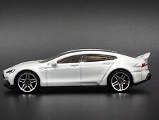 Tesla Model S White 1/64 LIMITED EDITION DIECAST COLLECTIBLE MODEL CAR RARE