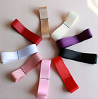 1X Women SATIN Fancy Dress Party Wedding SASH Waist Band Tie Belt Bridesmaid