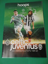 Celtic FC V Juventus 12/2/2013 Programme Ex Condition