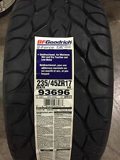 2 New 235 45 17 BFGoodrich g-Force T/A KDW Tires