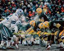 BART STARR 1967 ICE BOWL GREEN BAY PACKERS vs DALLAS COWBOYS 8x10 PHOTO