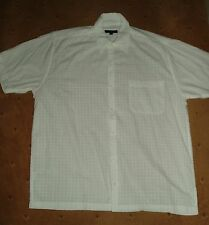 Mans white cotton shirt size M from George at Asda