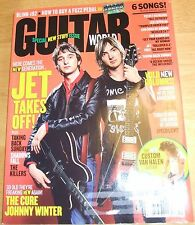 Nov 2004 Guitar World: Jet, How to Buy a Fuzz Pedal, The Cure, Johnny Winter