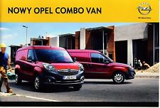 Opel Combo Van 02 / 2012 catalogue brochure polonais
