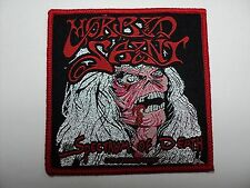 MORBID SAINT  SPECTRUM OF DEATH SILVER    WOVEN  PATCH